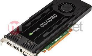 PNY Technologies nVIDIA K4000 Quadro 3GB DDR5 (192 bit) 2x DP, DVI