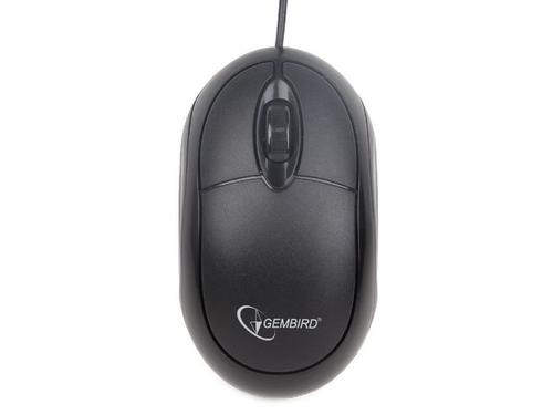 GEMBIRD Mysz OPTO 1-SCROLL USB (MUS-U-001) Black