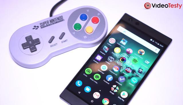 Razer Phone 2 z przodu ma ogromne glosniki