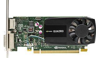 Hewlett-Packard nVIDIA K620 Quadro 2GB DDR3 (128 bit) DVI, DP (J3G87AT)