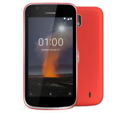 Nokia 1 Dual Sim (czerwony)