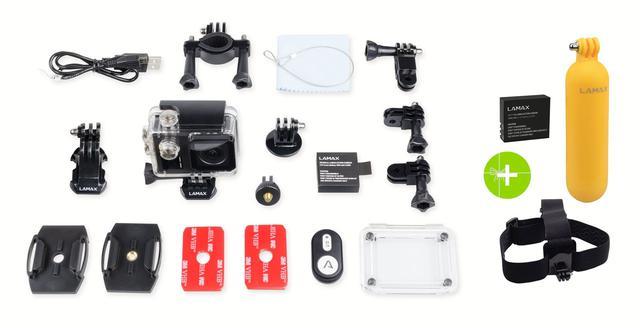 kamera sportowa Lamax X10 Taurus z bogatym wyposażeniem