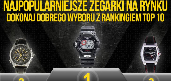 Najpopularniejsze Zegarki Na Rynku - Dokonaj Dobrego Wyboru z Rankingiem TOP 10!