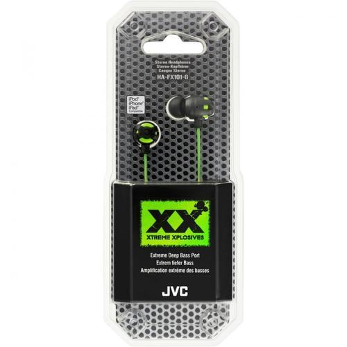 JVC Słuchawki douszne HA-FX101-G-E GREEN