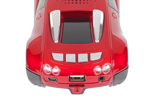 Quer samochód USB/TF card/AUX/FM radio/LCD MP3 model 2
