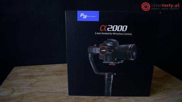 Feiyu-Tech A2000 pudełko