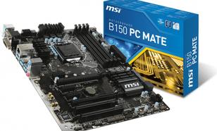 MSI B150 PC MATE, B150, DualDDR4-2133, SATA3, SATAe, HDMI, DVI, VGA,USB 3.1, ATX (B150 PC MATE)