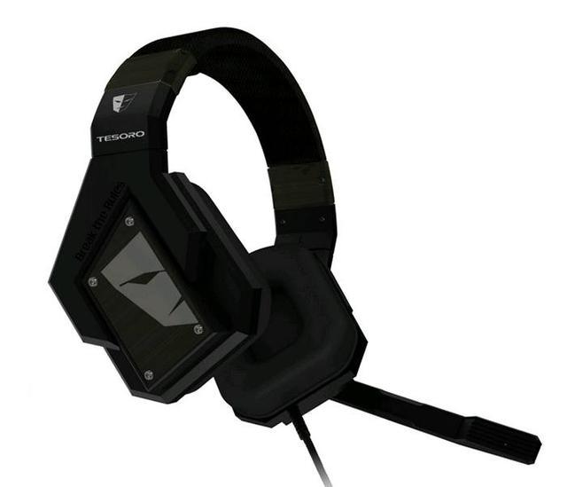 Tesoro Technology prezentuje pierwsze słuchawki gamingowe κυνέη (Kuven) Virtual 7.1  Gaming Headsets