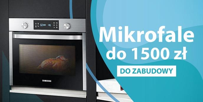 Kuchenki mikrofalowe do zabudowy do 1500 zł |TOP 5|