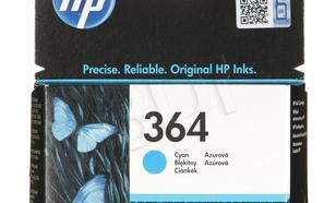 HP Tusz Niebieski HP364=CB318EE, 300 str., 3 ml