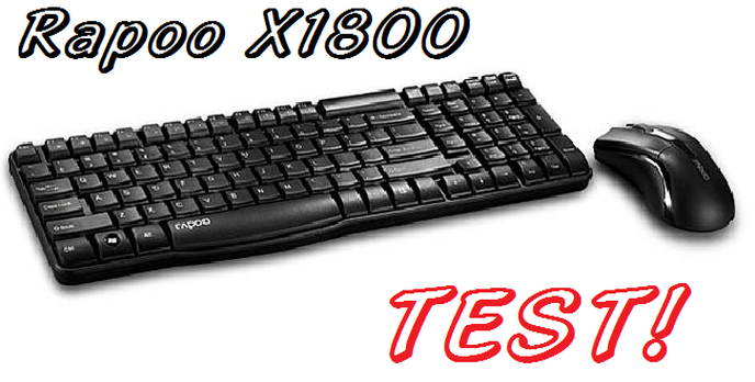 Rapoo X1800 - tani zestaw multimedialny bez kabelków!