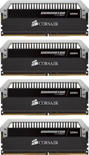 Corsair Dominator Platinum DDR4, 4x8GB, 4000MHz, CL19 (CMD32GX4M4E4000C19)