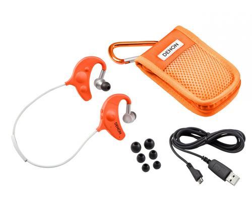 Denon Słuchawki AH-W150 Pomarańczowe