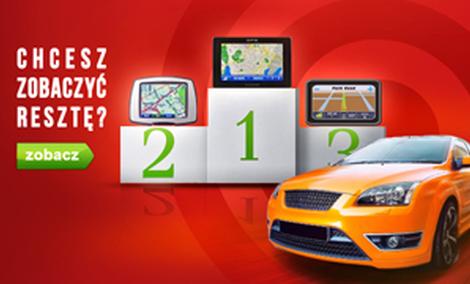 Najpopularniejsze Nawigacje GPS - Październik 2014