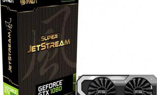 Palit GeForce GTX 1080 Super JetStream 8GB GDDR5X (256 Bit) DVI-D, HDMI, 3xDP, BOX (NEB1080S15P2J)