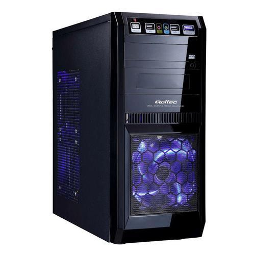 Qoltec Obudowa PC Narvi 1013B + 420W BL