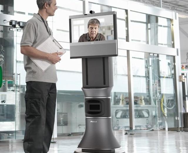 Firma iRobot prezentuje wideorobota Ava 500 opartego na technologii Cisco TelePresence