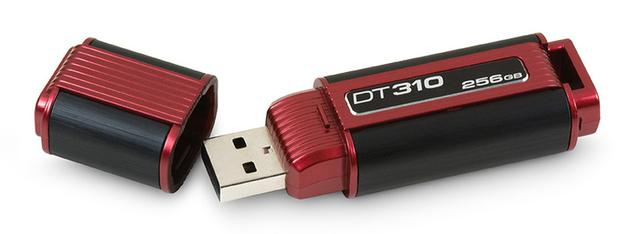 DataTraveler 310 – pendrive o pojemności 250 GB