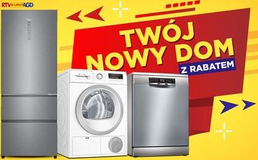 Oszczędź nawet 900 zł na AGD w Dni Żółtych Cen w RTV Euro AGD!