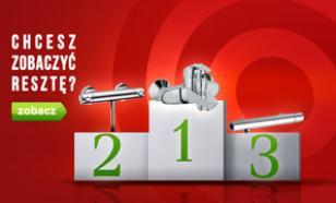 Baterie Wannowe i Prysznicowe - TOP 10 Maj 2015