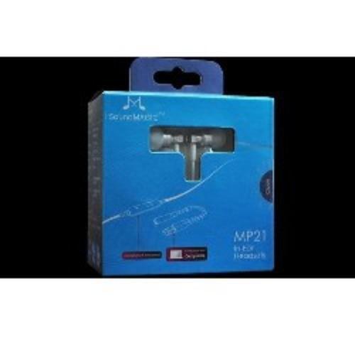 SoundMAGIC MP21 Silver Sluchawki z pilotem