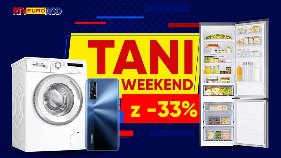 Lodówka Samsunga nawet 33% taniej! Weekendowe promocje w RTV Euro AGD
