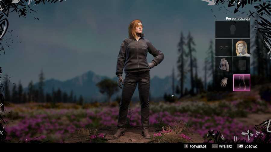 Far Cry: New Dawn - Ekran postaci bardzo kojarzymi mi się z PUBGiem
