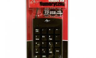 ART Klawiatura AK-45NUM numeryczna USB