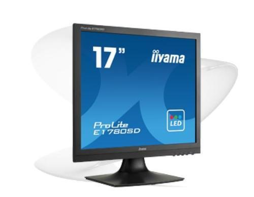 iiyama 17''E1780SD-B1 D-SUB/DVI/GŁOŚNIKI