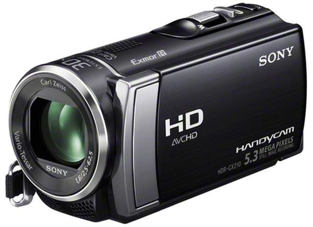 Sony HDR-CX210E - solidna kamera o niewielkich wymiarach