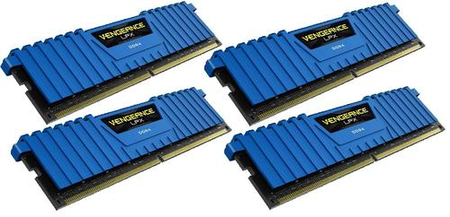 Corsair DDR4 Vengeance LPX 16GB /2133 (4*4GB) BLUE CL13-15-15-28