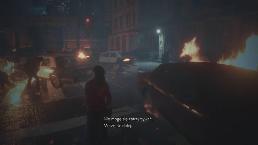 Resident Evil 2 - Raccoon City pogrążone w chaosie