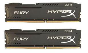 HyperX DDR4 Fury Black 8GB/2133 (2*4GB) CL14