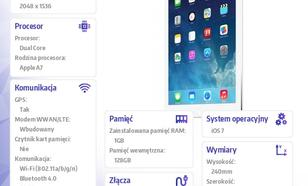 Apple IPAD WIFI CELLULAR 128GB SILVER ME988FD/A AIR