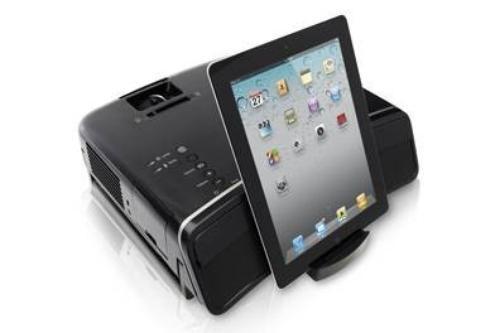 Epson Projektor MG-850HD ze Stacją Dokującą do iPoda 3LCD/720p/2800AL/3k:1/3.9kg