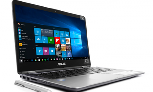 ASUS VivoBook Flip 14 TP410UA-EC491T - 256GB M.2 + 1TB HDD | 12GB