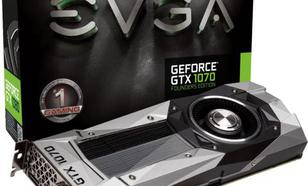 EVGA GeForce GTX 1070 Founders Edition 8GB GDDR5 (256 bit) DVI-D, HDMI, 3x DP, BOX (08G-P4-6170-KR)
