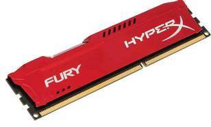 Kingston HyperX FURY Red DDR3 DIMM 4GB 1333MHz (1x4GB) HX313C9FR/4