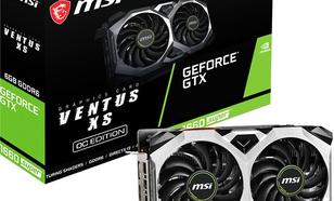 MSI GeForce GTX 1660 SUPER Ventus XS OC 6GB GDDR6 (GTX 1660 SUPER