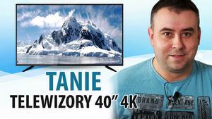 Tanie telewizory 40 cali z 4K |TOP 4|
