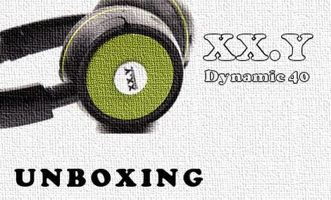 XX.Y Dynamic 40 rozpakowanie słuchawek z radiem FM i MP3