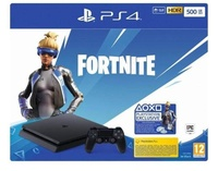 Konsola SONY PlayStation 4 Slim 500GB F Chassis + Zestaw do gry Fortnite: Neo Versa + PlayStation Plus 14 dni