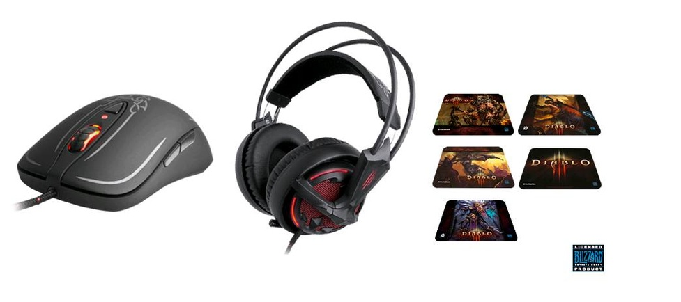 Produkty SteelSeries z serii Diablo III 50% taniej!