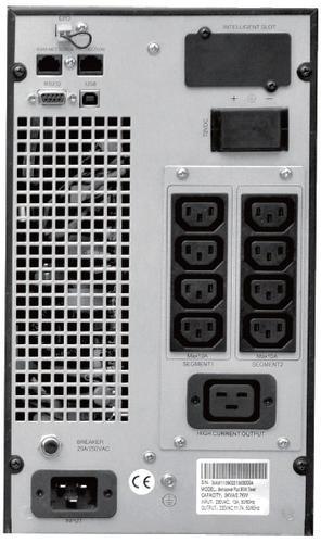 Lestar UPS Mep-3000 ONLINE LCD 9xIEC USB RS RJ 45