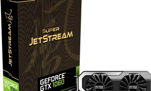 Palit GeForce GTX 1060 Super JetStream 6GB GDDR5 (192 bit) 3x DP,