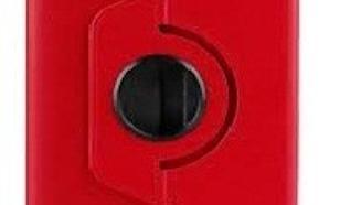 WEL.COM Etui obrotowe 360 stopni P3100 czerwone
