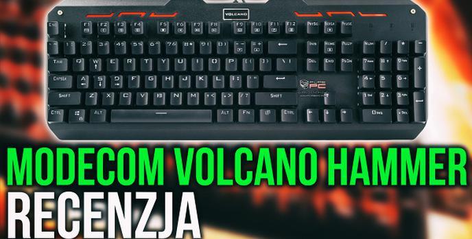 Budżetowa Klawiatura Mechaniczna - Modecom Volcano Hammer