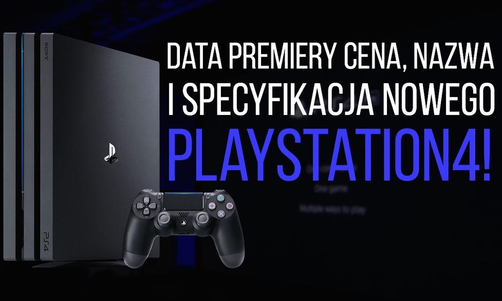 Sony PLAYSTATION 4 - Data Premiery, Cena, Nazwa i Specyfikacje!