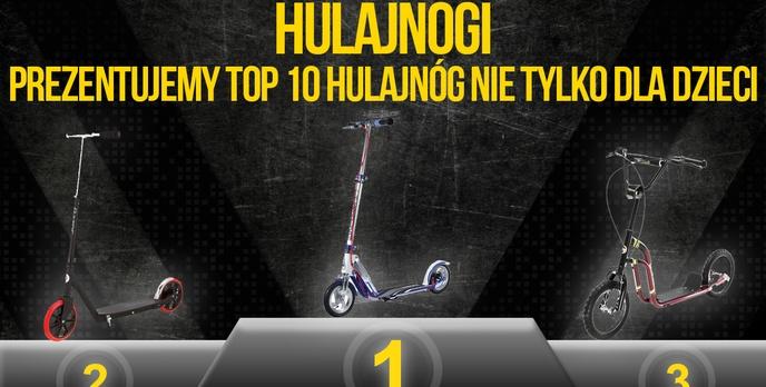 Hulajnogi – Prezentujemy TOP 10 Hulajnóg Nie Tylko Dla Dzieci!