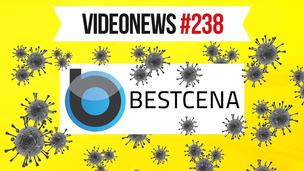 Koronawirus w technologii, sklepy internetowe z problemami - VideoNews #238
